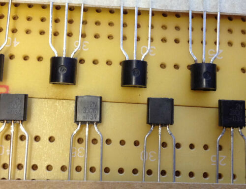 200 mA 40 V PNP Transistor bipolaire 2N3906TAR TO-92 625 mW 250 MHz Multi Qté