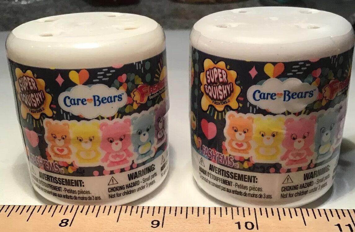 Care Bears Series 1 Fashems Figures 4 Blind Packs Tech 4 Kids
