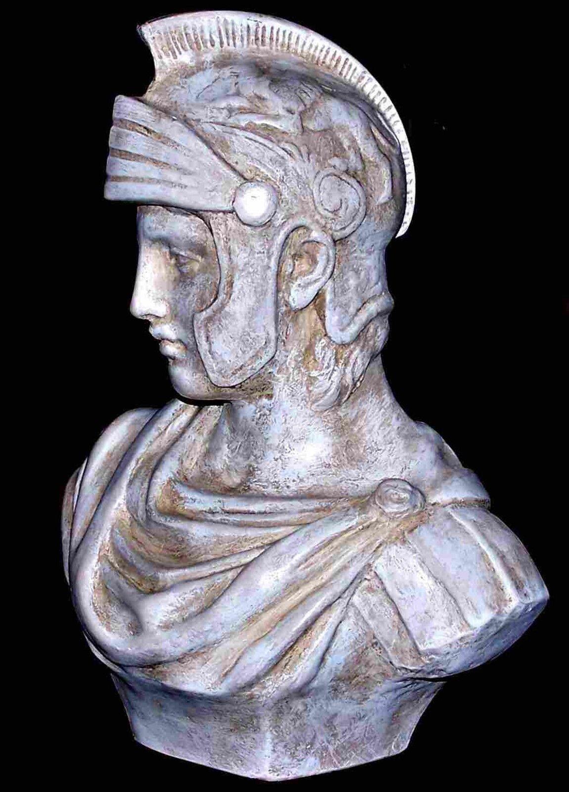 Escultura Estatua Alexander el grande arte Estatuilla Ornamento Decoración griego italiano