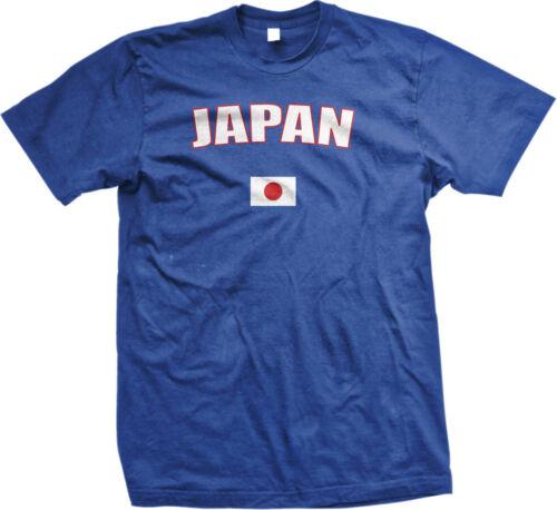 Japan Japanese Tokyo Flag Country Pride National Heritage Mens T-shirt