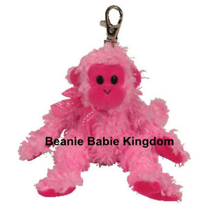 e549c8e9d7c Image is loading TY-BEANIE-BABIE-PINKYS-JULEP-THE-PINK-MONKEY-