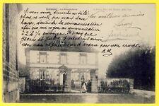 cpa TERNUAY Melay et St Hilaire (Haute Saône) Le PRESBYTÈRE Animé CURÉ SERVANTE