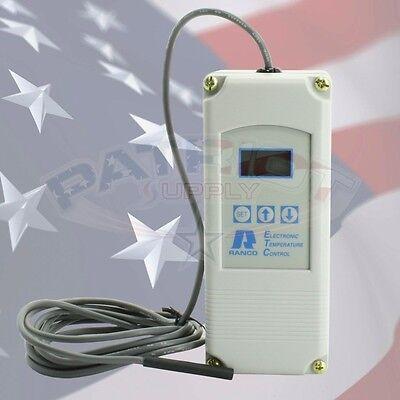 RANCO ETC-111000 DIGITAL TEMPERATURE CONTROL 120 - 240V ETC-111000-000