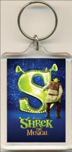 The Musical Bag Tag. Keyring Shrek