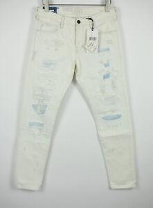 UVP 159 Scotch & Soda Ralston Lot 22 W33/L32 Zerrissen Stained Slim Jeans 6997