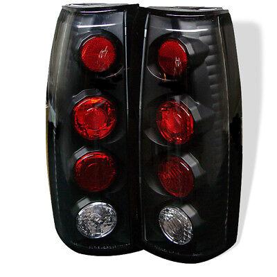 Chevy GMC 88-98 C//K Series Suburban Yukon Black Housing LED Rear Tail Lights