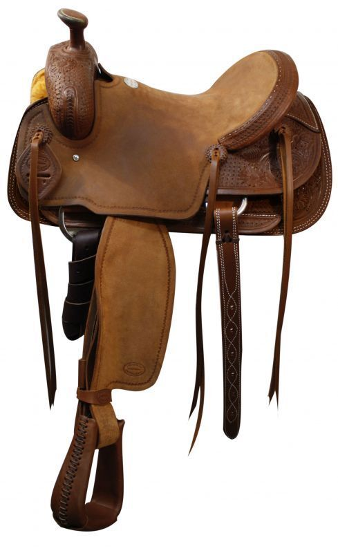 16  Showman™  Roper Style Saddle.  fast shipping and best service