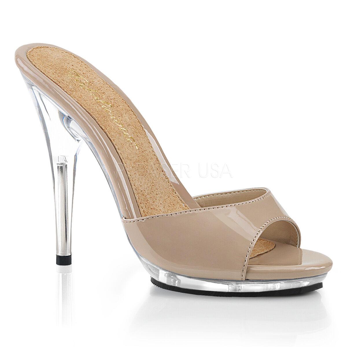 Pleaser High Poise-501 Slip On Mules Slide Schuhes 5