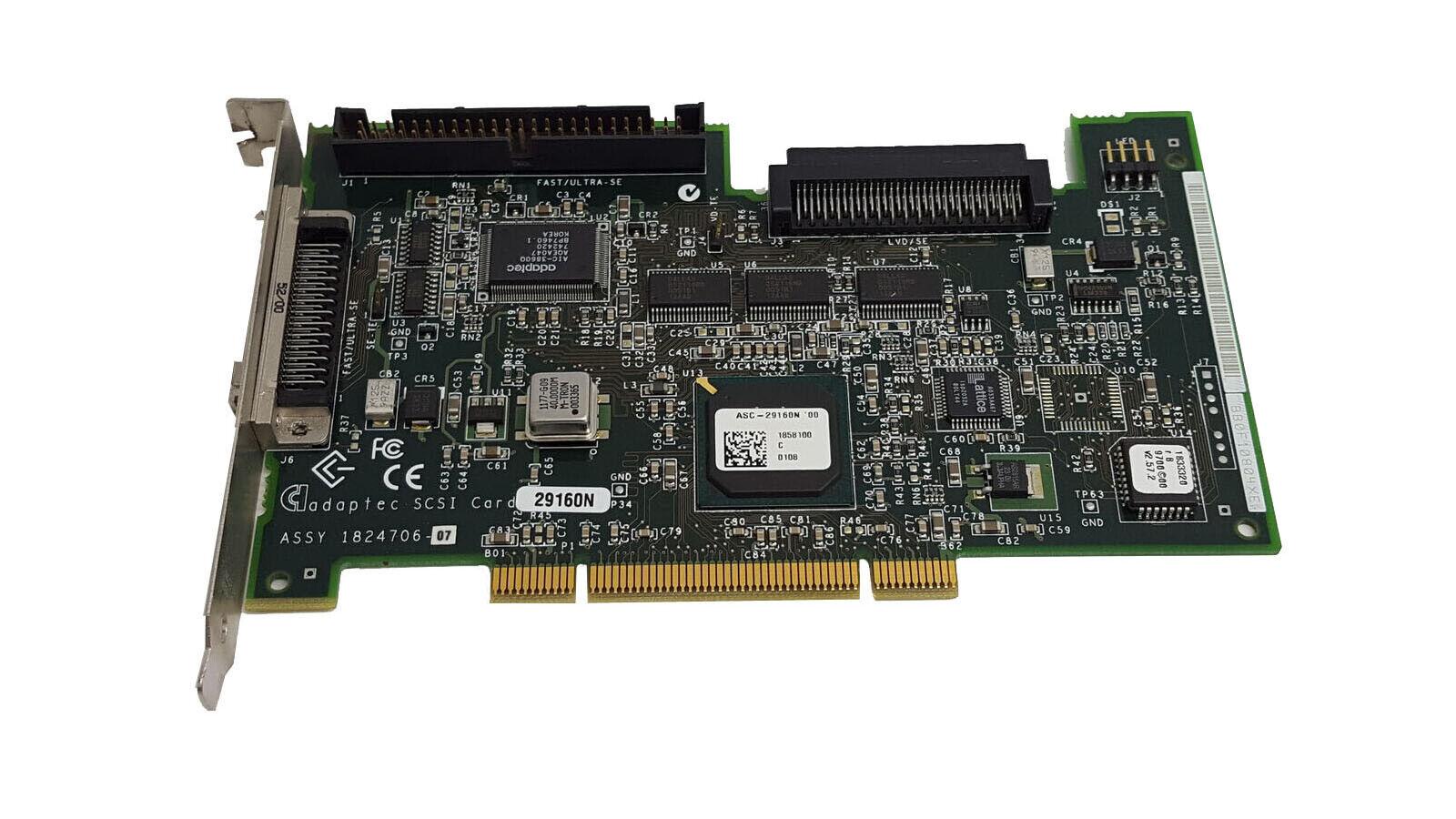 Adaptec scsi 12 controller card 29160n