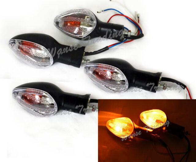 Turn Signals Light Clear Fit HONDA CBR 125R 500R CB1000R NC700 S/X CB1300 CB500X