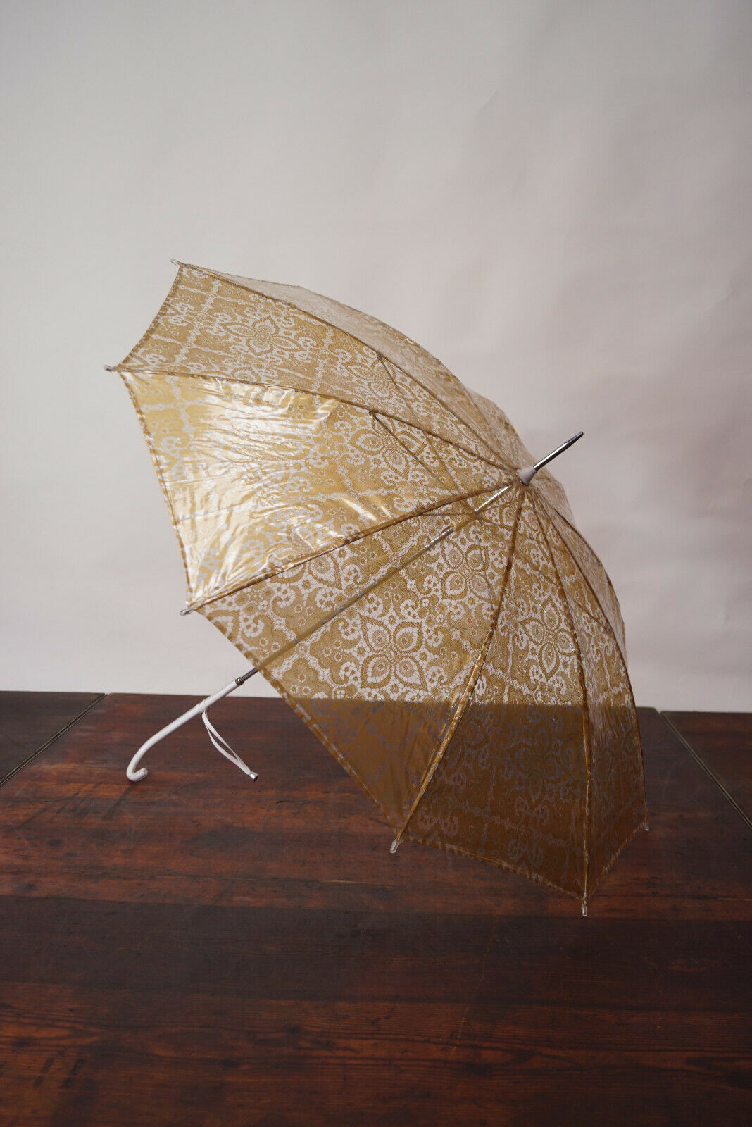 70er True Vintage Umbrella Retro Sunshade Umbrell… - image 7