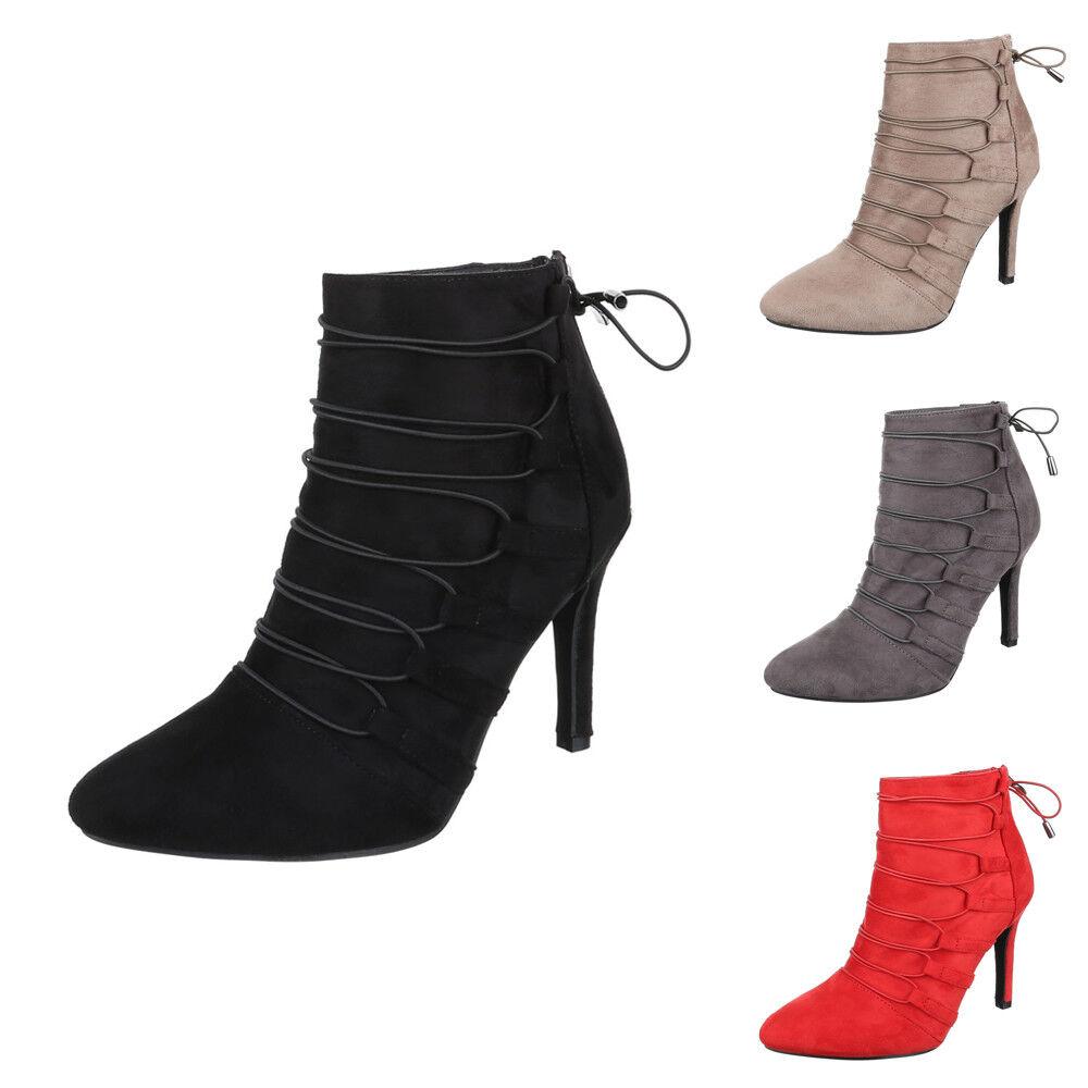 Aktuelle Schnürer Damen Stiefeletten zapatos Schnürer Aktuelle botas 7844 Camel 37 65abb7