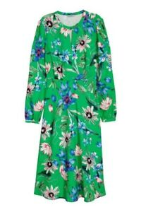 H-amp-M-S-S18-Patern-Floral-Print-Midi-Dress-SOLD-OUT-Size-8