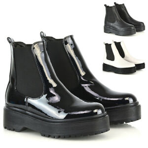 Womens Chelsea Ankle Boots Ladies Pull