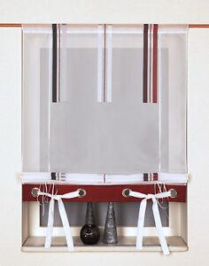 scheibengardine raffrollo b ndchenraffrollo 2204 03 80 100. Black Bedroom Furniture Sets. Home Design Ideas