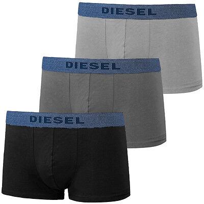 Diesel UMBX-SHAWN 3er Pack Boxershorts black grey Boxer Short 00SAB2-0AAMU-02
