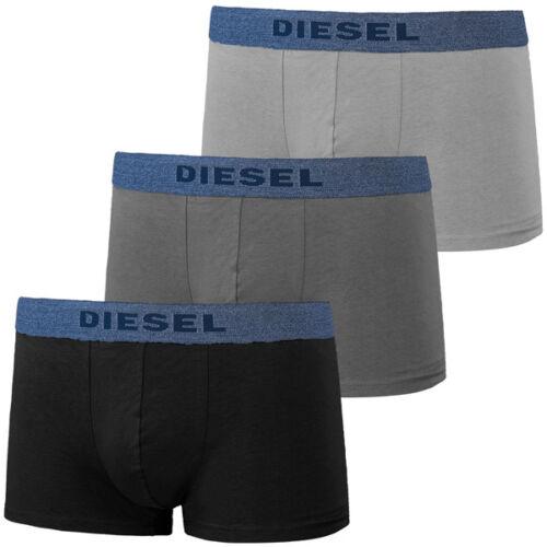 DIESEL UMBX-SHAWN 3er Pack Boxershorts Black Grey Boxer Short 00sab2-0 Aamu 02