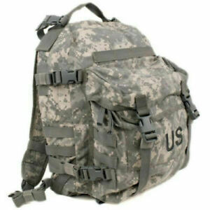 USGI US MILITARY MOLLE II PATROL ASSAULT PACK ARMY ACU UCP 3DAY MISSION BACKPACK