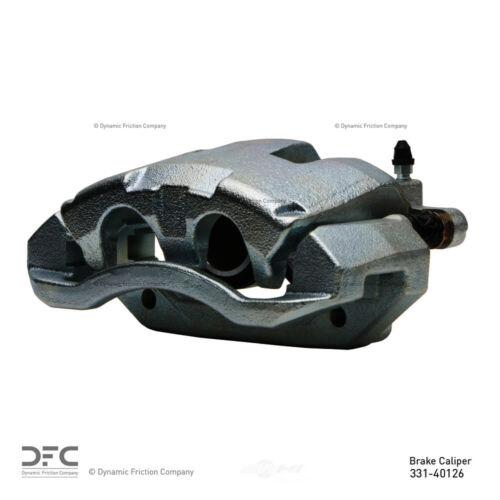 Disc Brake Caliper-Premium Caliper Silver Zinc Coated Front Right DFC