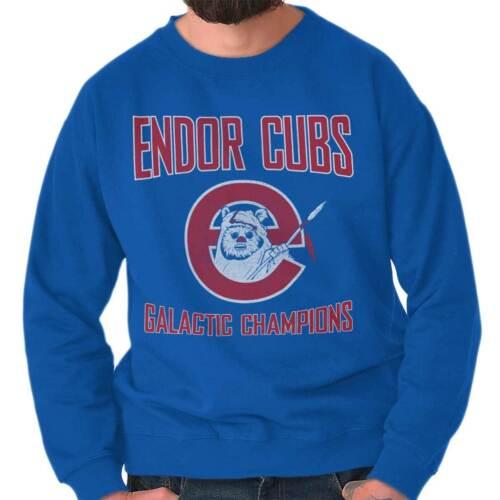 Space Galaxy Baseball Sports Nerdy Geeky Crewneck Sweat Shirts Sweatshirts