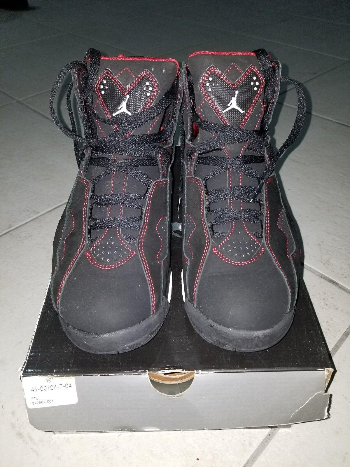 Air Jordan True Flight Black/Red/White Sz. 8.5