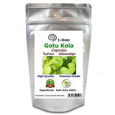 180 Gotu Kola  Capsules @500 mg  Centella asiatica Pure Natural Thai Herb