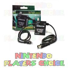 Universal RF Unit Adapter - SNES - NES - Sega Genesis - Automatic TV/Game Switch
