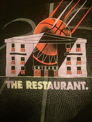 Outlet New Jersey >> Michael Jordan Vintage T Shirt 90s The Restaurant Chicago Basketball Size L | eBay