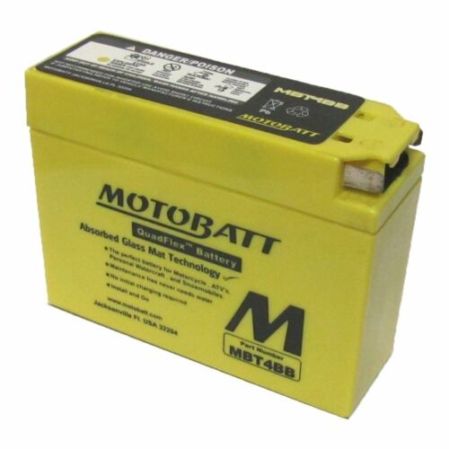 Battery MBT4BB Fully Sealed CT4B-5 20 CT4B-BS