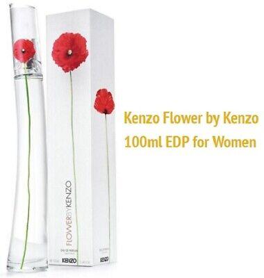 Flower por Kenzo 3.3 Oz Eau De Parfum (Eau de Parfum) Spray para Mujeres, Nuevo, Sellado | eBay