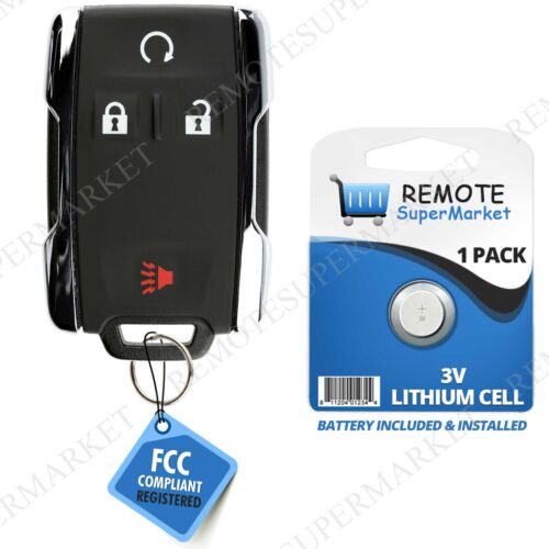 Replacement for GMC 2007-2016 Sierra 2007-2015 Yukon Remote Car Key Fob Entry 4B
