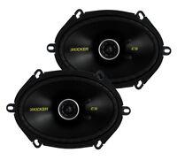 2) Kicker 40cs684 6x8 225w 2 Way Car Coaxial Speakers Stereo Audio Cs684