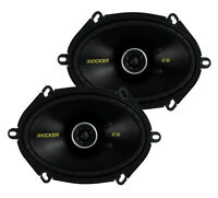 2) Kicker 40cs684 6x8 225w 2 Way Car Coaxial Speakers Stereo Audio Cs684