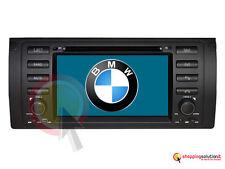 NAVIGATORE GPS AUTORADIO BMW E39 E38 E53 X5 SERIE 5 7 USB TV DVB-T LCD MP3 DVD
