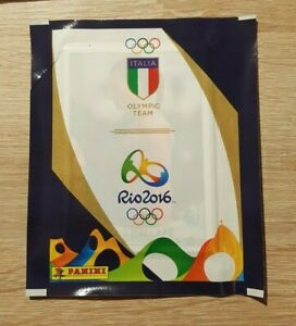 PANINI-1-Sac-Olympic-Games-2016-Rio-equipe-Italy-BUSTINE-PACKET-sobre-Olympia