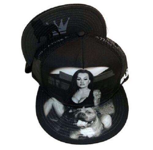 DGA King Bully Tattoo Model Pit bull Dog Men/'s//Ladies Snapback Cap//Hat Romeo