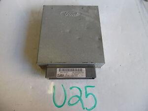 02-2002-FORD-TAURUS-SABLE-COMPUTER-BRAIN-ENGINE-CONTROL-ECU-ECM-MODULE-U25