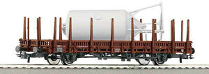 ROCO 66787 Stake wagon DB AG Ep.V+Mortar silo optional wheelsets NIP