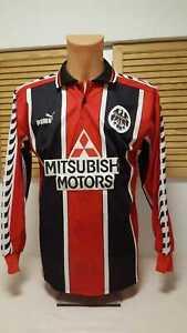 Eintracht-frankfurt-camiseta-1996-97-s-m-puma-mitsubishi-sge-camiseta-camisa-jersey