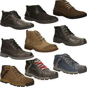 630b970d215a7c Das Bild wird geladen Herren-Stiefeletten-Kacper-Boots-Winterschuhe -Leder-Komfortable-Gr-