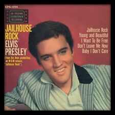 Elvis Presley - Jailhouse Rock - Framed Album Cover Print ACPPR48088