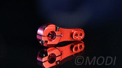 Servoarm Blau Alu eloxiert Servohebel Hebel MG995 Metall Kurbel Servo-Arm