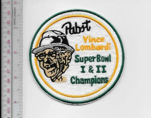 Beer Football Green Bay Packers /& Pabst Beer Vince Lombardi Super Bowl I /& II Ch