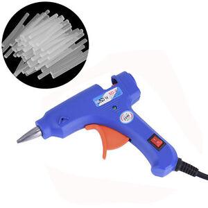 20w mini glue gun hot melt electric heat hobby craft diy for Heat guns for crafts