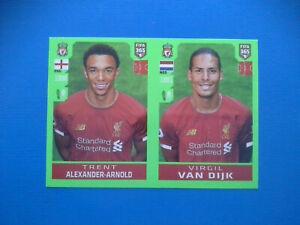 Figurine-Panini-Fifa-365-2019-20-2020-n-30-Alexander-Arnold-Van-Dijk-Liverpool