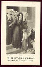 image pieuse santini holy card Sainte Louise De Marillac