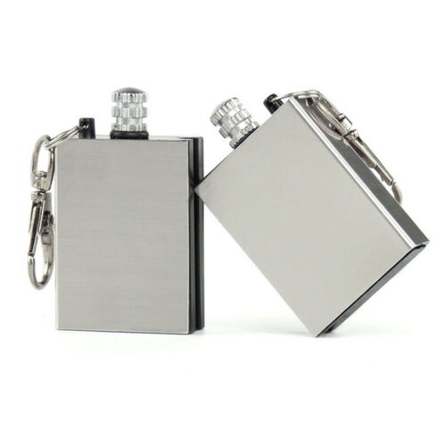Details about  /Waterproof Camping Survival Flint Match Camping Military Stainless Matches IS