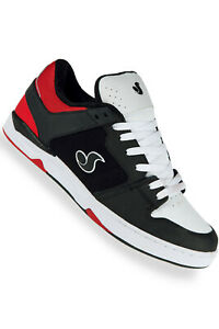 DVS-Shoes-Argon-Deegan-black-white-red-Skate-BMX-MX-NEUWARE-Gr-41-46-SALE