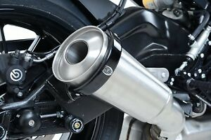 R-amp-G-Racing-Oval-Supermoto-Exhaust-Protector-4-5-034-To-5-034-End-Cans-EP0005BK