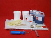 Fibreglass Kit 3m² Coverage Glass Fibre Repair 3 metres + tools